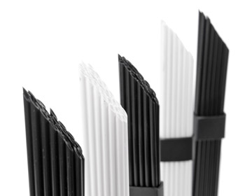 black and white brushes - the mote
